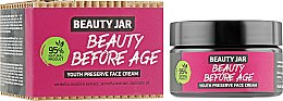 Духи, Парфюмерия, косметика Антивозрастной крем для лица - Beauty Jar Beauty Before Age Youth Preserve Face Cream