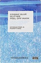 "Духи, Парфюмерия, косметика Пилинг-маска для лица ""Космический голубой блеск"" - Vitamasques Cosmic Blue Glitter Peel Off Mask"