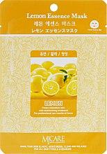 Духи, Парфюмерия, косметика Тканевая маска с лимоном - MJ Care Lemon Essence Mask