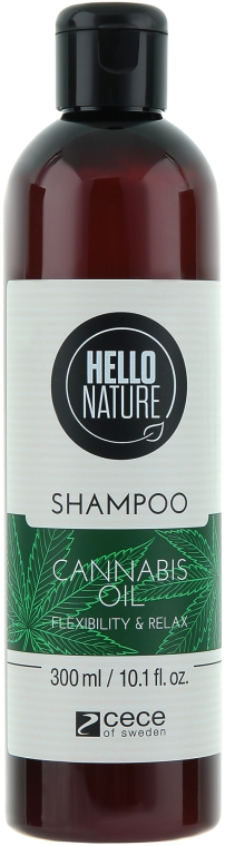 "Шампунь для волос ""Масло каннабиса"" - Cece of Sweden Hello Nature Shampoo"