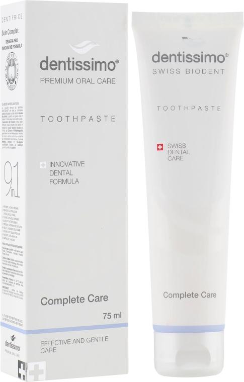 """Зубная паста """"Комплексный уход"""" - Dentissimo Complete Care"""