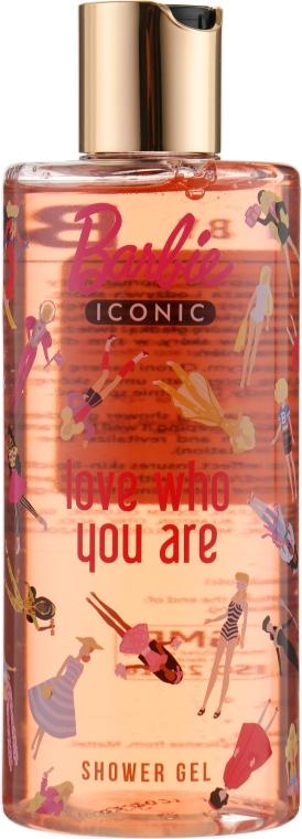 "Гель для душа детский ""Love Who You Are"" - Bi-Es Barbie Iconic Shower Gel"