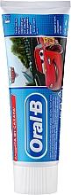 Духи, Парфюмерия, косметика Детская зубная паста - Oral-B Kids Cars Toothpaste