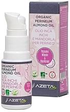 Духи, Парфюмерия, косметика Органическое миндальное масло для подготовки к родам - Azeta Bio Organic Perineum Almond Oil