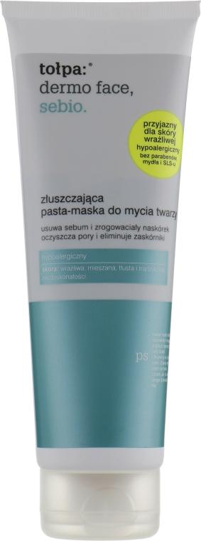 Маска-паста глубокого очищения - Tolpa Dermo Face Sebio Exfoliating Face Paste-Mask