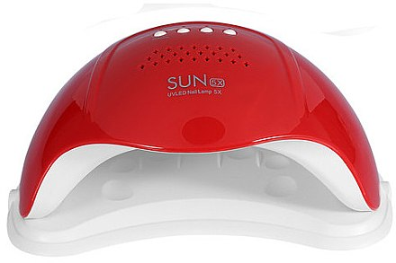 Лампа UV/LED, красная - Sun 5X UV/LED Nail Lamp