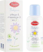 Духи, Парфюмерия, косметика Детское масло для тела с органическими маслами - Topfer Babycare Baby Skin Oil