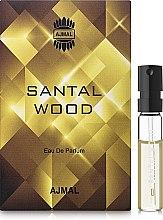 Духи, Парфюмерия, косметика Ajmal Santal Wood - Парфюмированная вода (пробник)