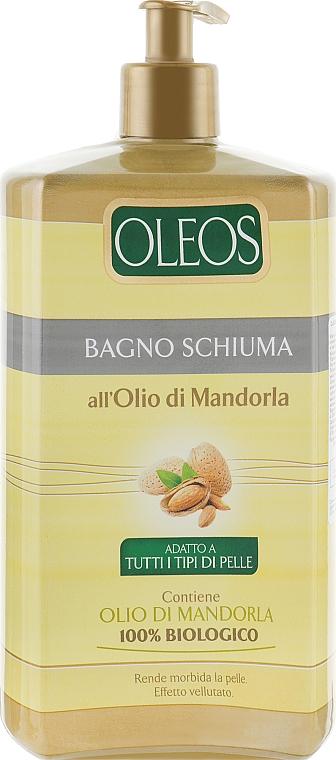 Гель-пена для душа и ванной с маслом миндаля - Oleos Bagno Schiuma Mandorla