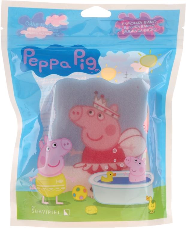 "Мочалка банная детская ""Свинка Пеппа"", Peppa - Suavipiel Peppa Pig Bath Sponge"