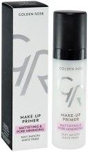Духи, Парфюмерия, косметика Праймер для лица - Golden Rose Make-Up Primer Mattifying & Pore Minimising
