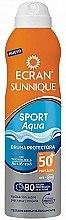 Духи, Парфюмерия, косметика Солнцезащитный спрей - Ecran Sunnique Sport Aqua Protective Mist SPF50