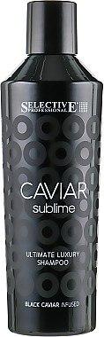 Шампунь для ослабленных волос - Selective Professional Caviar Sublime Ultimate Luxury Shampoo