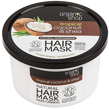 Маска для волос - Organic Shop Coconut & Shea Moisturising Hair Mask