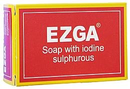 Духи, Парфюмерия, косметика Натуральное серное мыло - Ezga Soap with Iodine Sulpfurous