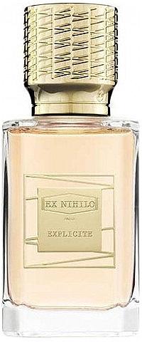 Ex Nihilo Explicite - Парфюмированная вода (пробник)