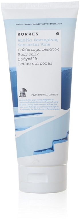 Молочко для тела - Korres Santorini Vine Body Milk