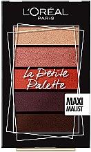 Духи, Парфюмерия, косметика Палетка теней для век - L'Oreal Paris La Petite Palette Maximalist Eyeshadow