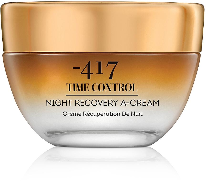 """Крем для лица ночной восстанавливающий с ретинолом """"Контроль над старением"""" - -417 Time Control Collection Recovery A Cream"""