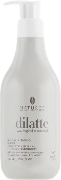 Шампунь-Гель для душа - Nature's Dilatte Shampoo & Shower Gel