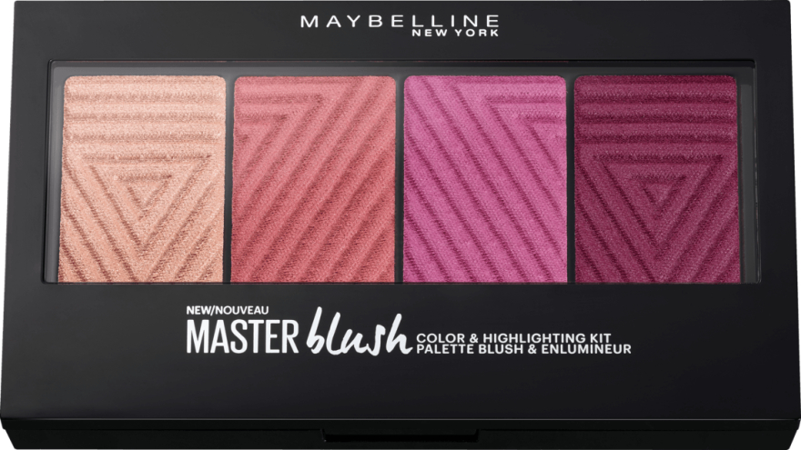 Палетка румян - Maybelline New York Rouge Palette Master Blush Palette