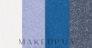 Четырехцветные тени для век - Avon True Color Eyeshadow Quad — фото Blue Diamond