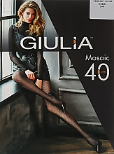 "Парфумерія, косметика Колготки ""Mosaic"" 40 Den, nero - Giulia"