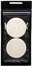 Духи, Парфюмерия, косметика Спонж для макияжа, 2 шт - NYX Professional Makeup Multi-Formula Disc Sponge