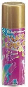 """Цветной спрей для волос """"Metall"""", золотой - Sibel Coloured Hair Spray"""