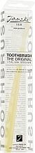 Духи, Парфюмерия, косметика Зубная щетка средней жесткости, 93SP59, желтая - Janeke Toothbrush
