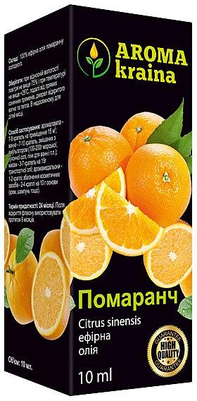 "Эфирное масло ""Апельсин"" - Aroma kraina"