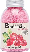 """Духи, Парфюмерия, косметика Смягчающие шарики для ванны """"Малиновый сорбет"""" - Fergio Bellaro Raspberry Sorbet Bath Caviar"""