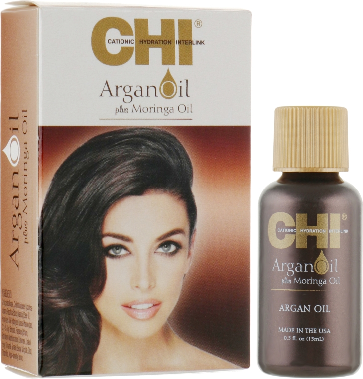Восстанавливающее масло для волос - CHI Argan Oil Plus Moringa Oil (мини)