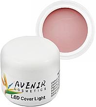 Духи, Парфюмерия, косметика Гель для наращивания камуфляжный - Avenir Cosmetics LED Cover Light Gel