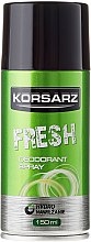 Духи, Парфюмерия, косметика Дезодорант - Pharma CF Korsarz Fresh Deodorant