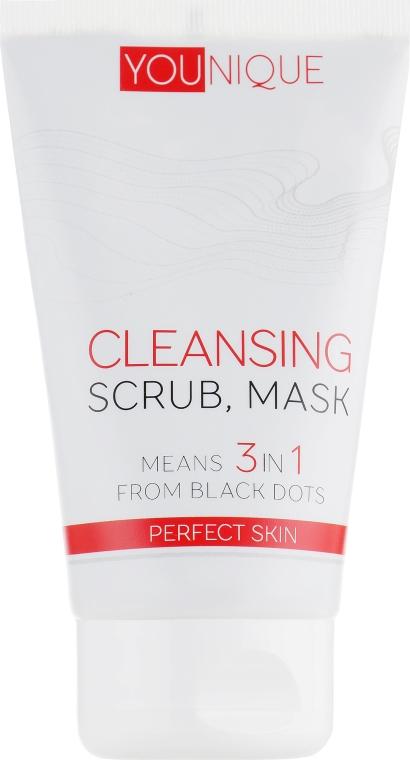 """Средство 3 в 1 от черных точек """"Идеальная кожа"""" - J'erelia YoUnique Cleansing 3in1"""