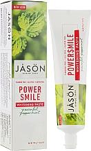 Духи, Парфюмерия, косметика Отбеливающая зубная паста - Jason Natural Cosmetics PowerSmile All Natural Whitening Toothpaste
