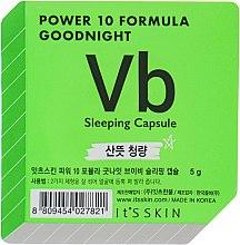 Духи, Парфюмерия, косметика Ночная маска-капсула для проблемной кожи - It's Skin Power 10 Formula Goodnight Sleeping Capsule VB