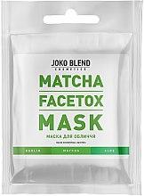 Парфумерія, косметика Маска для обличчя - Joko Blend Matcha Facetox Mask