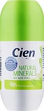 Духи, Парфюмерия, косметика Дезодорант шариковый - Cien Natural Minerals