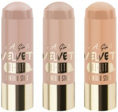 Духи, Парфюмерия, косметика Хайлайтер для лица - L.A. Girl Velvet Contour Sticks Hi-Lite