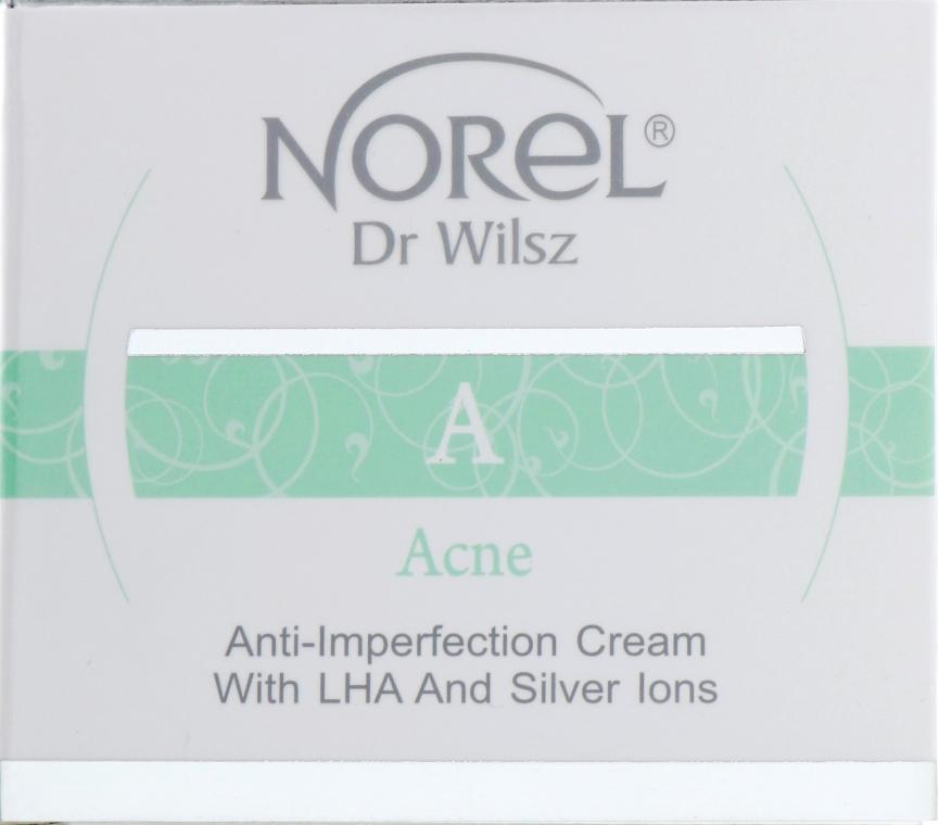 Крем ультралегкий с LHA кислотами и ионами серебра - Norel Acne Anti-imperfection cream with LHA and silver ions