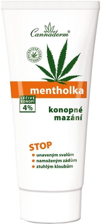 Расслабляющий и обезболивающий гель с охлаждающим эффектом - Cannaderm Mentholka
