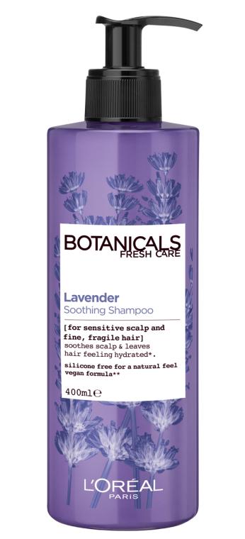 """Шампунь """"Лаванда, Эссенция Увлажнение"""" для тонких волос и чувствительной кожи головы - L'Oreal Paris Botanicals Fresh Care Lavender Soothing Shampoo"""