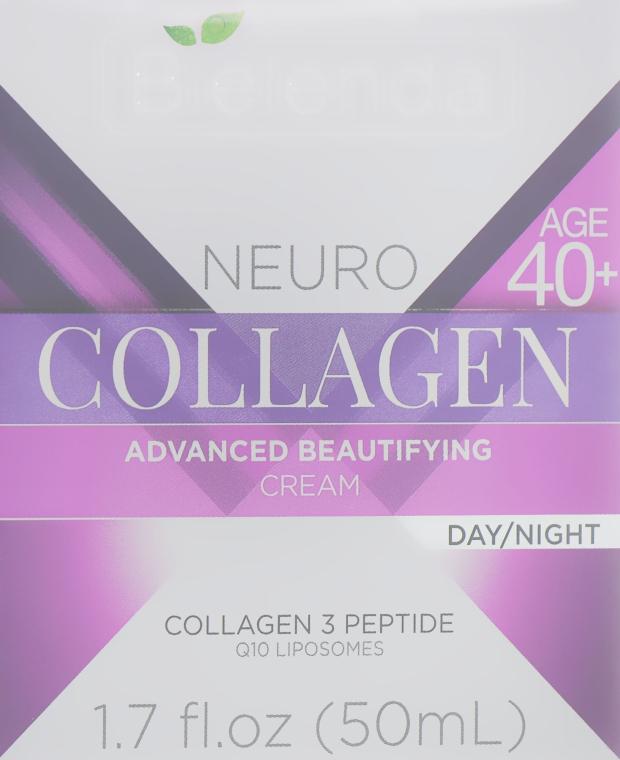 Увлажняющий крем-концентрат против морщин 40+ - Bielenda Neuro Collagen