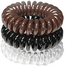 Духи, Парфюмерия, косметика Резинки для волос, 3,5 см - Ronney Professional S16 MAT/MAT/MET Funny Ring Bubble