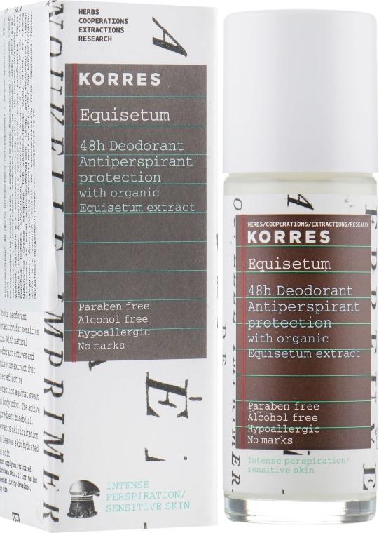 """Антиперспирант """"48 ч"""" против интенсивного потоотделения с лёгким ароматом - Korres 48h Deodorant"""