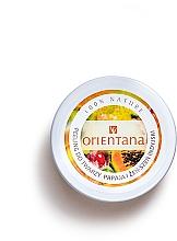 """Духи, Парфюмерия, косметика Кремовый пилинг для лица """"Папайя"""" - Orientana Natural Cream Face Scrub Papaya"""