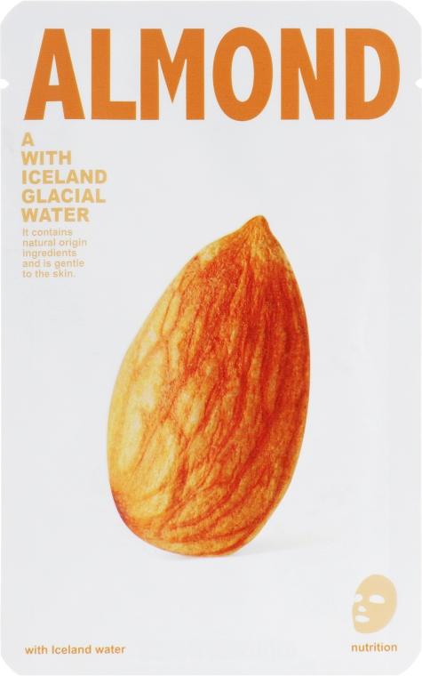 """Тканевая маска для лица """"Миндаль"""" - The Iceland Almond Mask"""