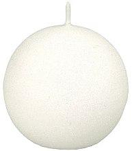 Духи, Парфюмерия, косметика Декоративная свеча «Гламурный шар» белый, 8см - Artman Glamour
